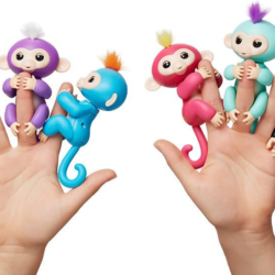 fingerlings singe jouet interactif