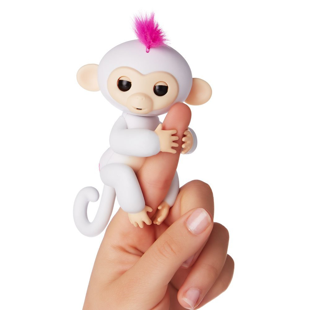 fingerlings ouistiti blanche Sophie