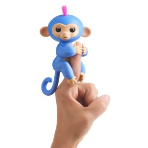 liv singe interactif fingerlings bleu pervenche