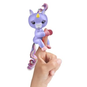 Aliko fingerlings licorne bleu
