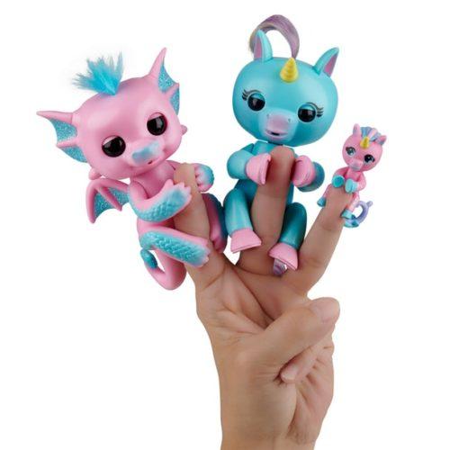 Fingerlings Dragon & Licorne pour la 1ère fois dans un même pack