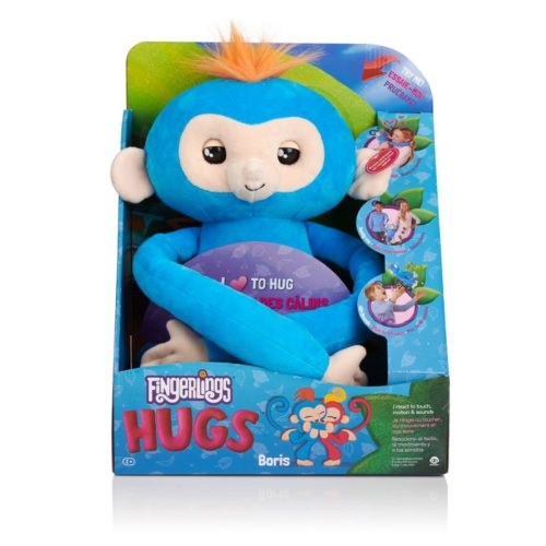 Pack fingerlings peluche bleu boris