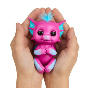 Sandy Fingerlings Dragon Rose creux des mains