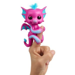 Fingerlings Dragon Rose de profil Sandy